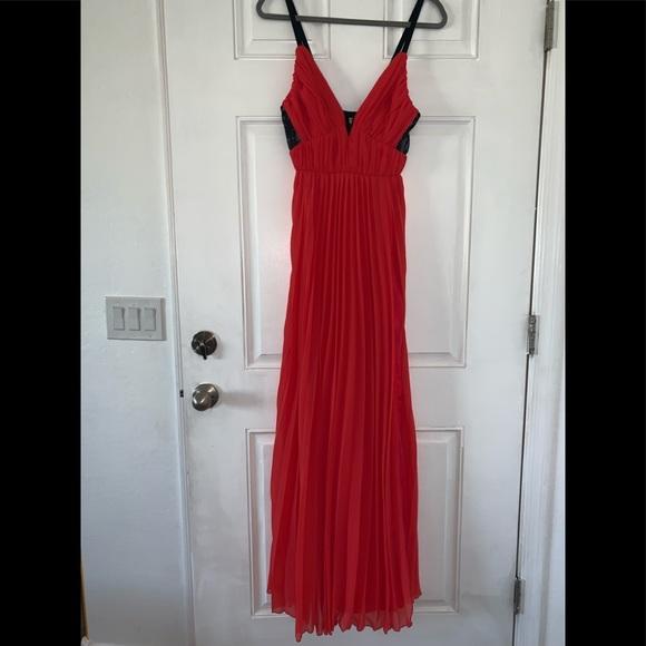 ABS Allen Schwartz Dresses & Skirts - Tangerine colored gown